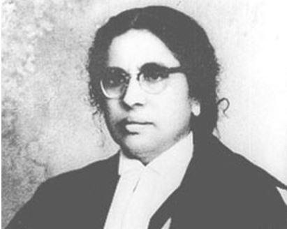 भारत की पहली महिला न्यायाधीशः अन्ना चांडी